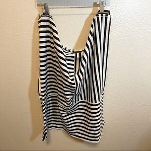Lululemon Vinyasa Zips Apex Black Stripe Scarf